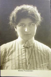 Zdenka Faßbender Czech-German soprano