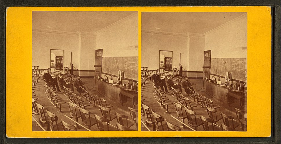 Physical lecture room, Institute of Technology, by John B. Heywood