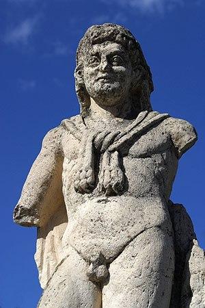 Switzerland in the Roman era - Statue of Hercules in Augusta Raurica
