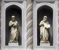 Piero di giovanni tedesco, quindici statuiette di apostoli ed evangelisti (1387-90) + una di francesco neri ubaldi detto il sellaio (1363-65) 03.JPG
