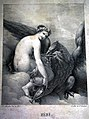 Pierre-Jean A MOURLAN - Hebe and the Eagle of Jupiter. 1815.jpg