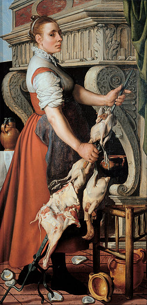 Pieter Aertsen - The cook, 1559