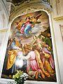 Pieve di Santa Maria (Fagna)-annunciazione della vergine 1587 (Santi di Tito) 1.jpg