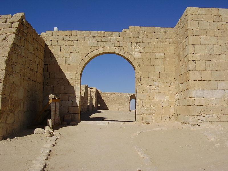 שער הכניסה למצודת עבדת