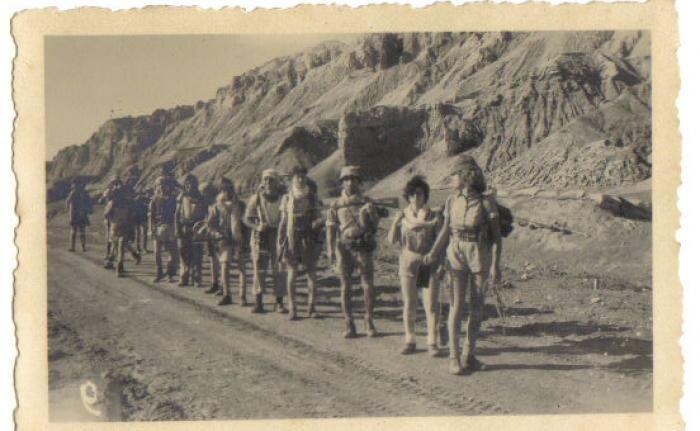PikiWiki Israel 1593 To Mezada טיול מצדה הנוער העובד 1951