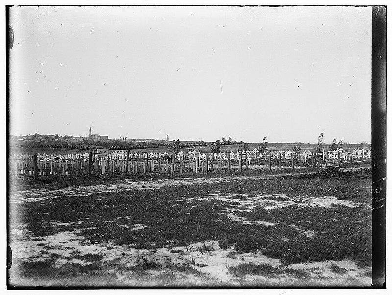 בית הקברות הצבאי הבריטי, רמלה