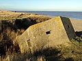 Pillbox next to Holmpton Beach - geograph.org.uk - 1129414.jpg