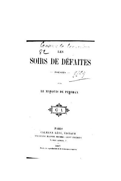 File:Pimodan - Les Soirs de défaites, 1887.djvu