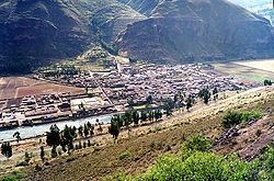 Pisac and the Vilcanota River
