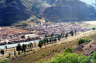 Písac - Pisac and the Vilcanota River
