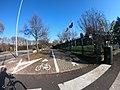 Pista ciclopedonale in via Martiri di Cefalonia.jpg