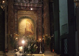 Basilica of Our Lady of Humility - Madonna of humility altar