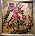 Pittore valenciano, san michele e il drago, 1405 ca. 01.JPG