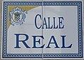 Placa de la Calle Real 2 (cropped).JPG