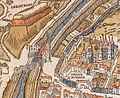 Plan de Paris vers 1550 porte du Temple.jpg