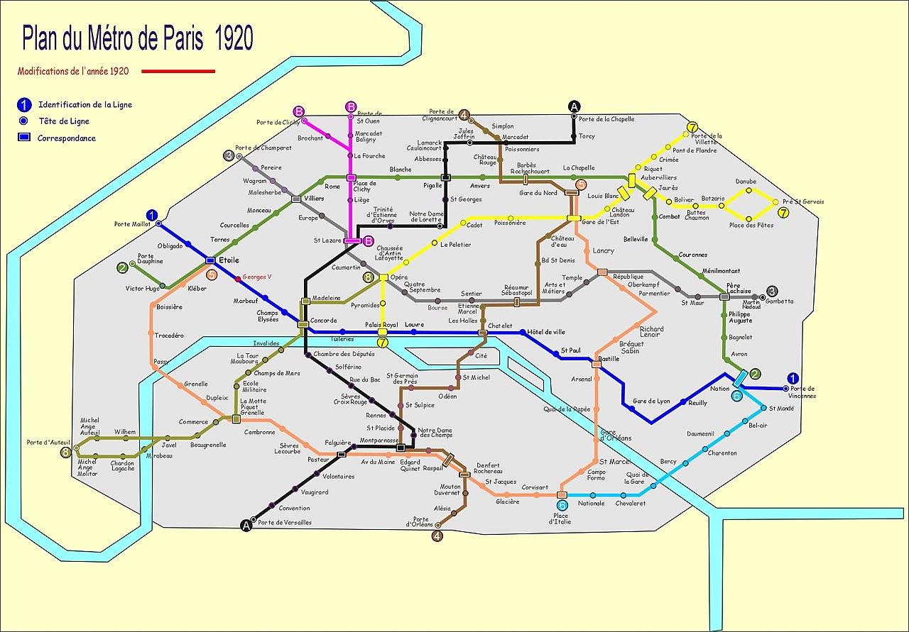 Fileplan Metro Paris 1920jpg Wikimedia Commons