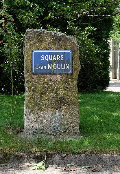 Mémorial Jean Moulin, Square Jean Moulin, Planchez, Département Nièvre, Bourgogne-Franche-Comté, France
