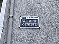 Plaque Sente Geneste - Le Pré-Saint-Gervais (FR93) - 2021-04-28 - 2.jpg
