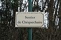Plaque sentier Chèquechaire St Cyr Menthon 3.jpg