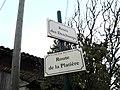 Plaques Route Deschamps Route Platière St Cyr Menthon 2011-11-19.jpg