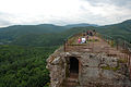 Plateforme du château du Fleckenstein, Parc naturel des Vosges du Nord.jpg