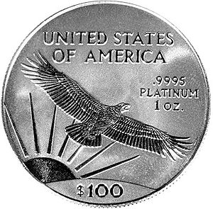 American Platinum Eagle bullion coin
