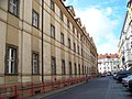 Platnéřská, Klementinum, od Mariánského náměstí.jpg