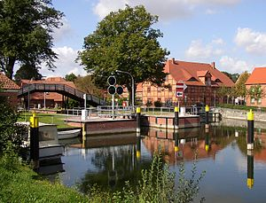 Plau am See - Lock and former mill