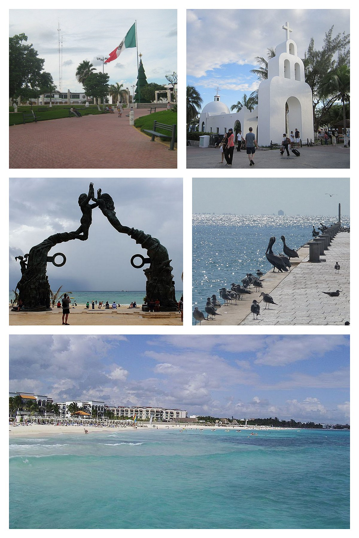 Playa del carmen wikipedia la enciclopedia libre for En zacatecas hay playa