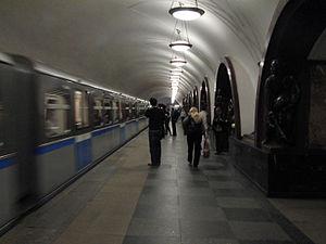 Ploshchad Revolyutsii (Moscow Metro) - Image: Ploshchad Revolyutsii (Площадь Революции) (5087251262)