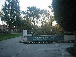 Plummer Park - Plummer Park entrance