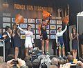 Podium Ronde van Vlaanderen voor vrouwen 2014.jpg