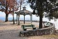 Poertschach Halbinsel Landspitz Pavillion mit Parkbaenken 01012013 545.jpg