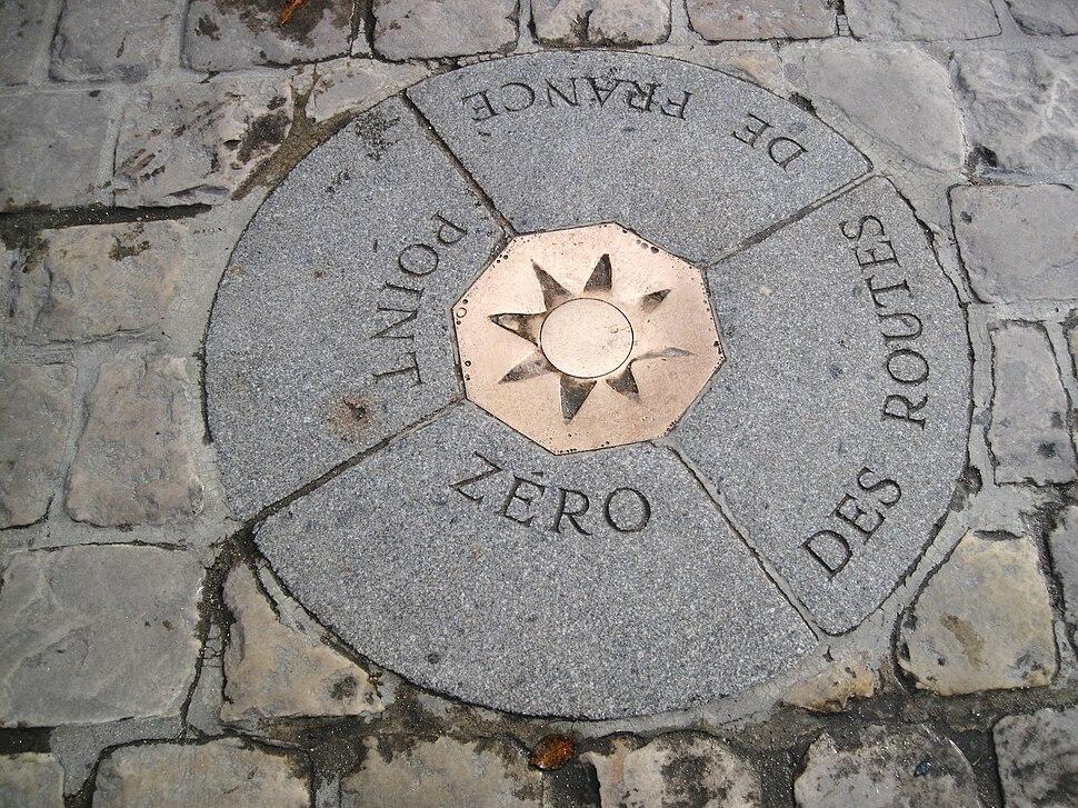 Point Zéro des Routes de France (1)