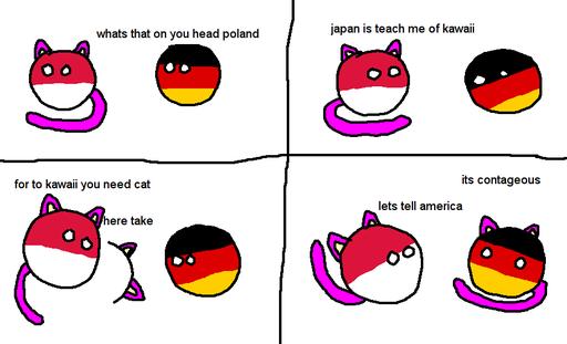 Polandball Kawaii