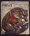 Pompeii - Casa dell Orso Ferito - Bear Mosaic.jpg