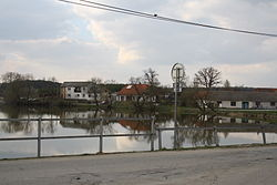 Pond Poulík in Okarec, Třebíč District.jpg