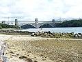 Pont Britannia from Pwll-fanogl - geograph.org.uk - 2021693.jpg