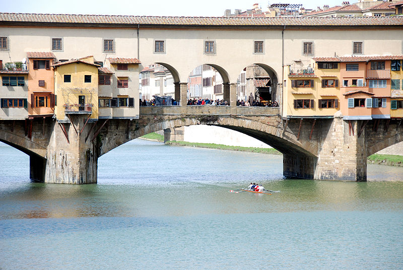 File:Ponte Vecchio with Scullers.jpg