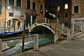Ponte del Formager a Dorsoduro notte Venezia.jpg