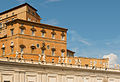 Pontifical appartments from Piazza San Pietro Vatican City.jpg