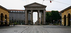 The Porta Ticinese city gate