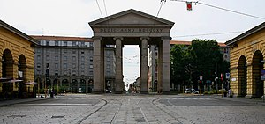 Porta Ticinese - The Porta Ticinese city gate