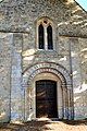 Portail ouest de l'église Saint-Vigor d'Asnières-en-Bessin.jpg