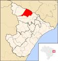 Porto da Folha map.png
