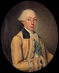 Portrait of Louis François Joseph de Bourbon, Prince of Conti in hunting costume (Musée Condé).jpg