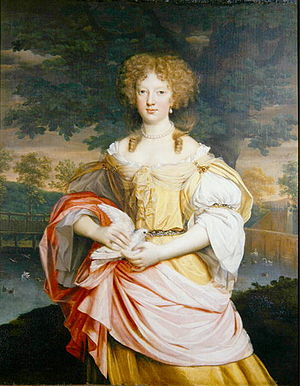 John Michael Wright - Portrait of Mary Wilbraham, Weston Park