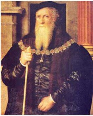 Anthony Wingfield - William Scrots' Portrait of Sir Anthony Wingfield (ca. 1550)