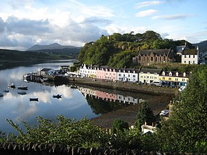 English: Portree, Isle of Skye (Scotland)