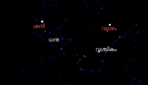 Position of Jupiter and Saturn during September 2019.ml